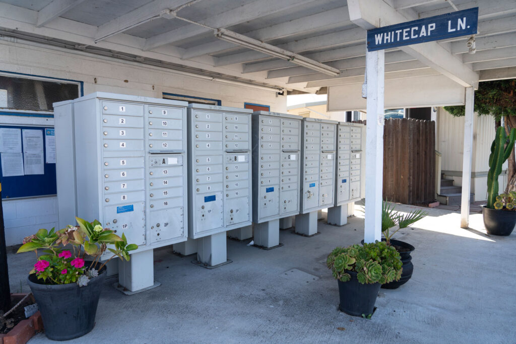 Covered Mailboxes